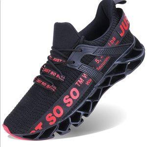 0113 Mens Walking Shoes Running Non Slip Blade